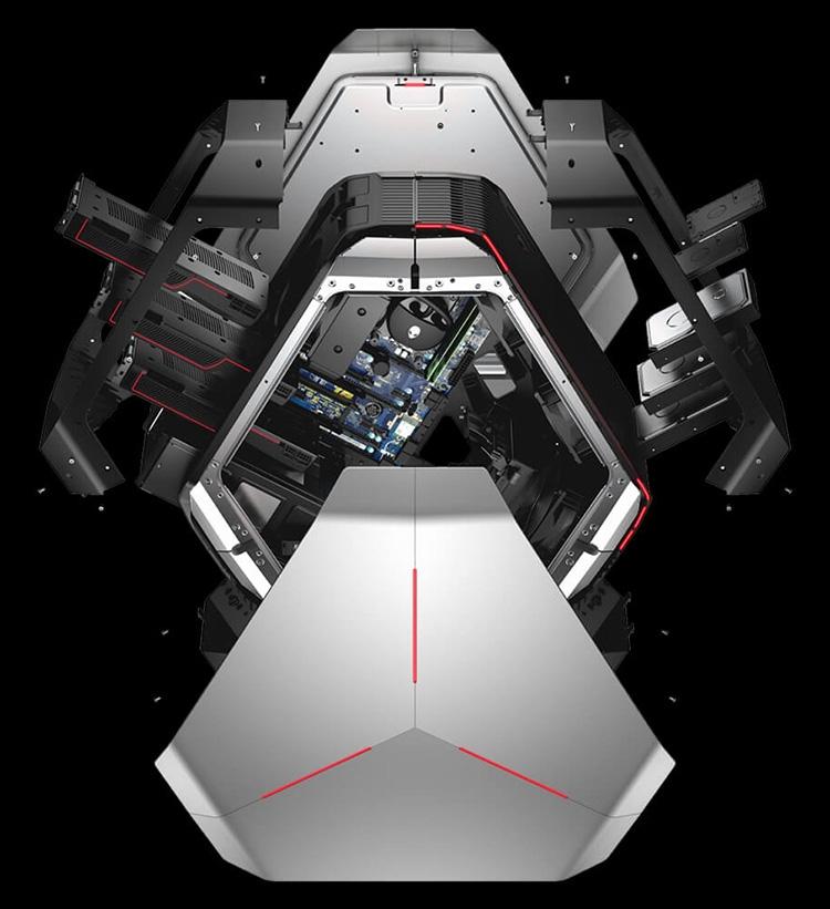 630 3 - Alienware Area-51 выйдет в конфигурациях с Core i9 и Ryzen Threadripper