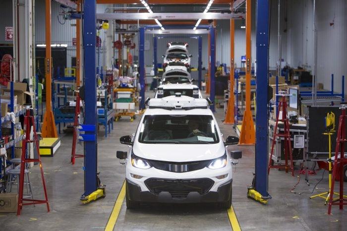 """GM утроила парк автономных электромобилей Chevrolet Bolt"""""""