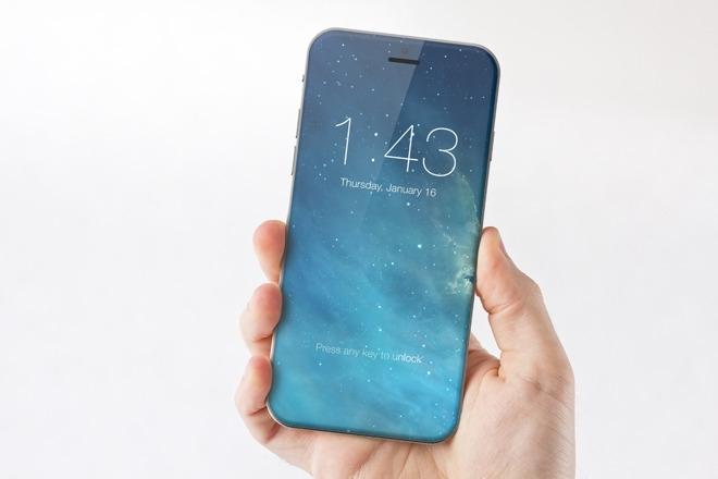 Концепт iPhone 8 дизайнера Марека Вейдлиха (Marek Weidlich)