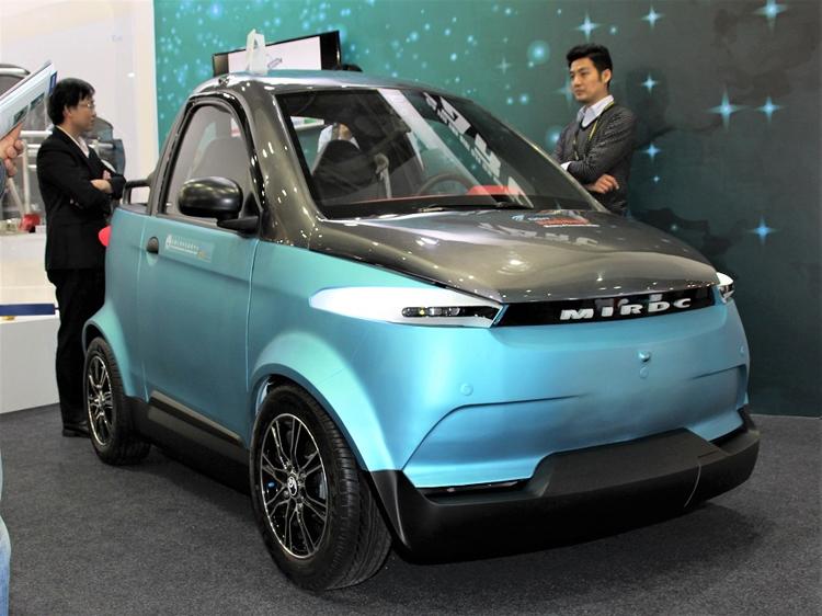 car1 На Тайване представлен электромобиль с кузовом, напечатанным на 3D-принтере