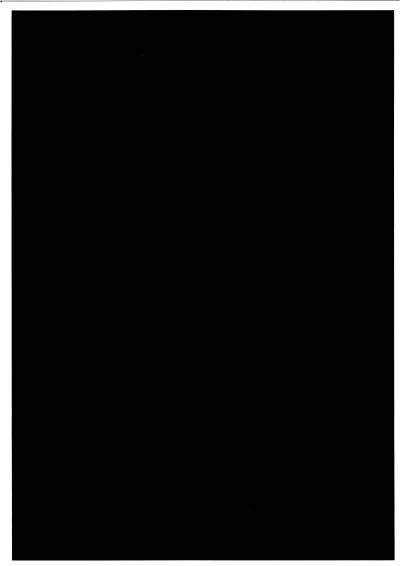 Пример печати чёрного фона со стандартным качеством печати