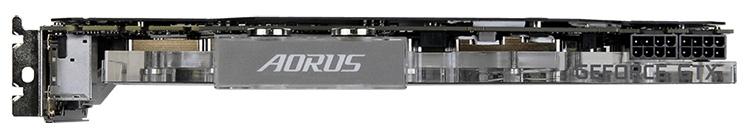 Для питания карты требуются два 8-контактных кабеля PCI-E Power
