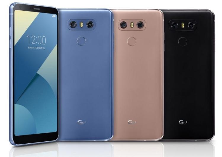 Смартфоны LG G6 и G6+