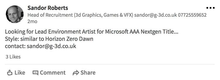 """Слухи: Microsoft работает над эксклюзивом Xbox One в стиле Horizon Zero Dawn"""""""