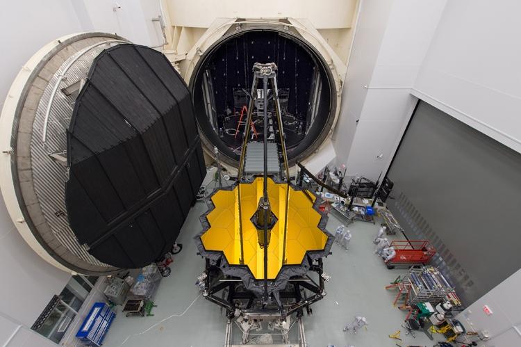 Начинается важный этап тестирования космического телескопа-рекордсмена