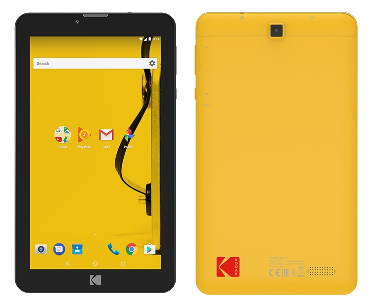 Планшеты Kodak Tablet 7 и 10