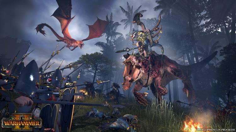 Видео: карта кампании Total War: Warhammer II