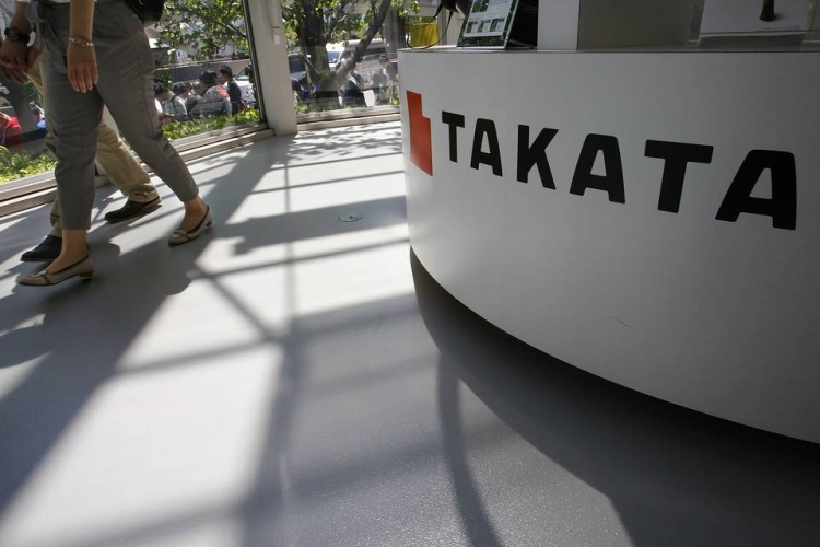 Производитель подушек безопасности Takata объявил о банкротстве и продаже бизнеса