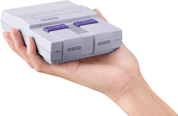 Nintendo анонсировала запуск новейшей игровой консоли Classic Мини
