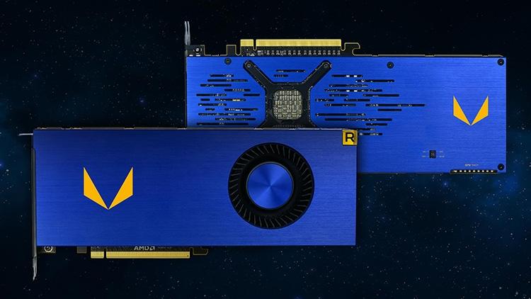 Radeon Vega Frontier Edition с воздушной СО