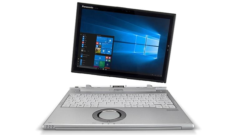 Panasonic представила работающий 14 часов без подзарядки гибридный защищённый ноутбук