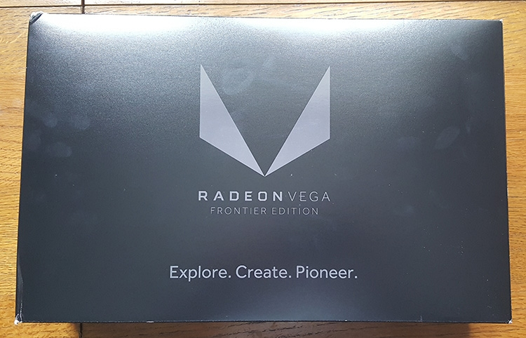 Результаты любительского тестирования карты Radeon Vega Frontier Edition