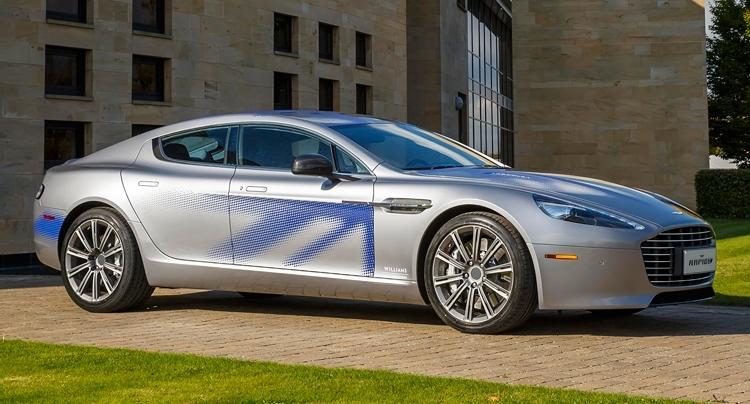 Aston Martin RapidE: LeEco вышла из проекта, но электромобиль всё равно выпустят