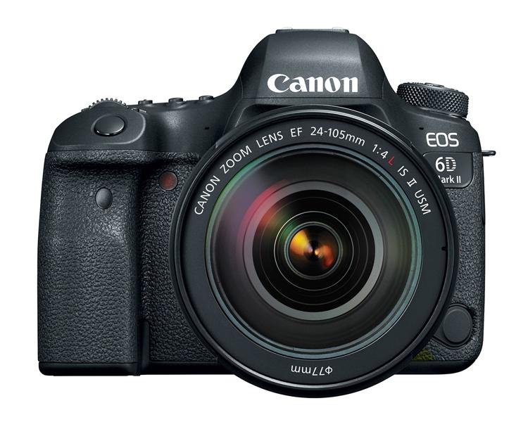 ca1 - Дебют долгожданного зеркального фотоаппарата Canon EOS 6D Mark II