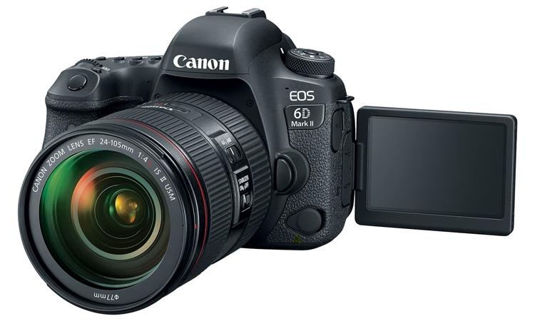 ca3 - Дебют долгожданного зеркального фотоаппарата Canon EOS 6D Mark II