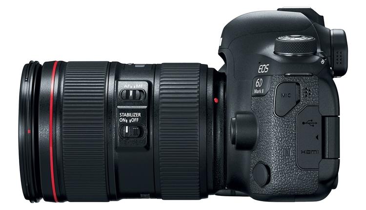 ca4 - Дебют долгожданного зеркального фотоаппарата Canon EOS 6D Mark II