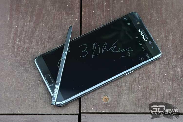После провала Galaxy Note7 (на фото) компании Samsung особенно важно не ударить в грязь лицом с Note8