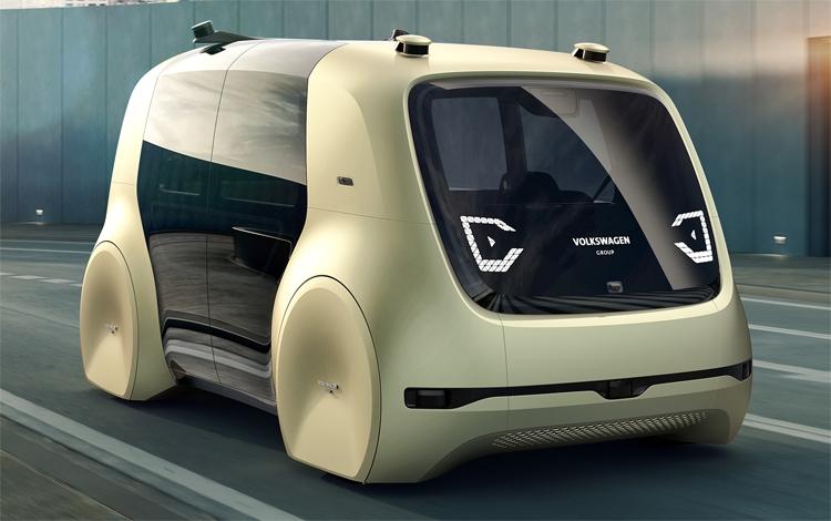 """Автомобили Volkswagen начнут общаться друг с другом в 2019 году"""""""