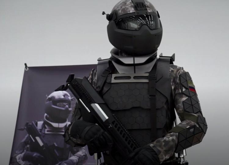 В России продемонстрирована экипировка «солдата будущего»