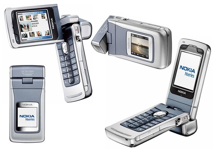 Nokia N90 имел чуть ли не лучшую в классе камеру с объективом Carl Zeiss, но его толщина составляла целых 2,4 см