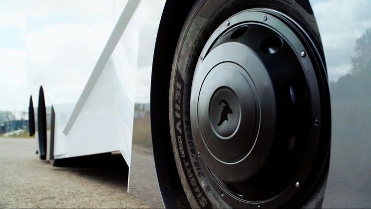 """Беспилотный электрогрузовик EinrideT-Pod: концепт фуры будущего"""""""
