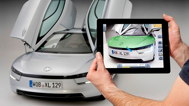 vw1 Volkswagen возьмёт на вооружение технологии виртуальной реальности HTC