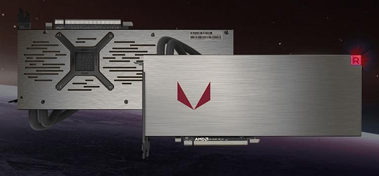 Новый эскиз Radeon RX Vega (окончательный дизайн держится в тайне)