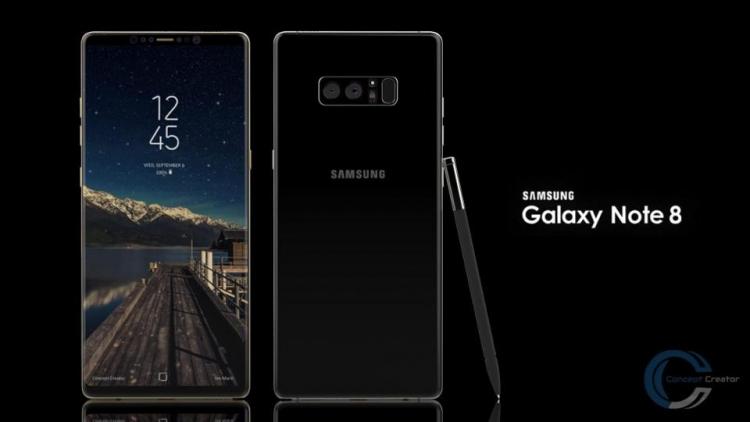 Известна дата официального релиза Самсунг Galaxy Note 8