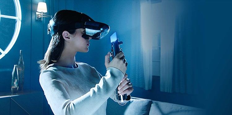 Lenovo создала шлем дополненной реальности для игр в духе «Звёздных войн»