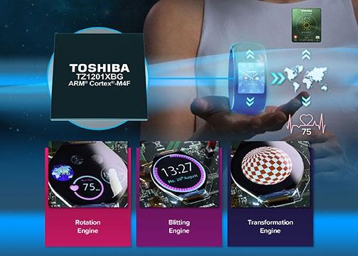 Toshiba выпустила экономичный графический процессор для носимых устройств