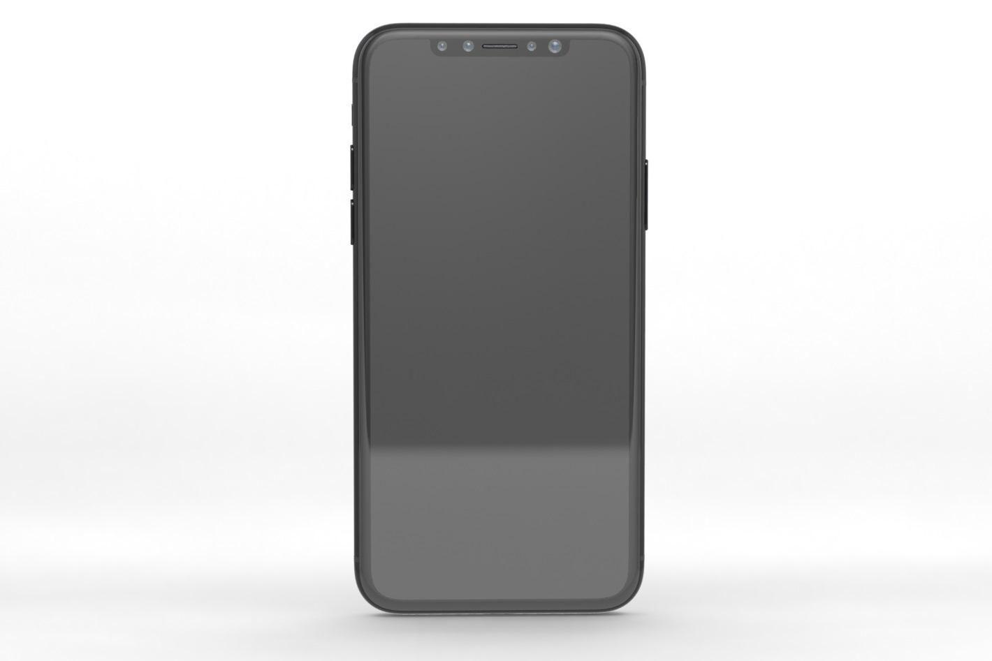 Сканеру отпечатка пальца iPhone 8 нашли новое место