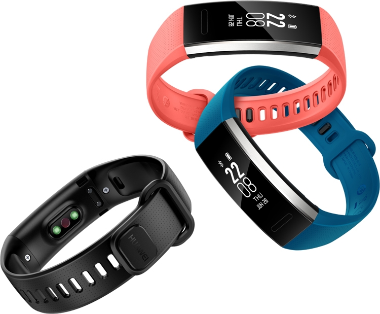 Фитнес-трекеры Huawei Band 2 и Band 2 Pro