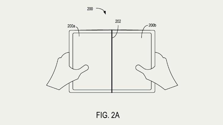 Microsoft анонсировала безрамочный складной телефона Surface Phone