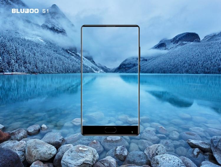 Компания BLUBOO представила безрамочный смартфон BLUBOO S1
