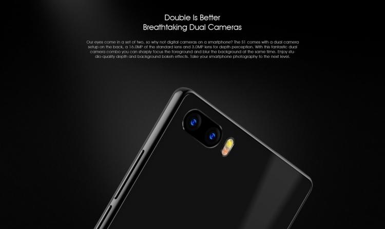 Компания BLUBOO представила дешевый безрамочный телефон BLUBOO S1