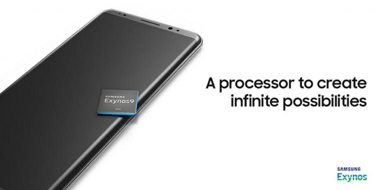 Предполагаемое изображение Galaxy Note8 из рекламного материала Samsung о чипсете Exynos 8895 в Twitter