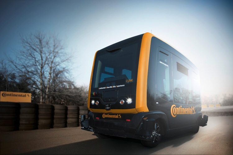 Continental CUbE: концепция самоуправляемого транспорта для мегаполисов