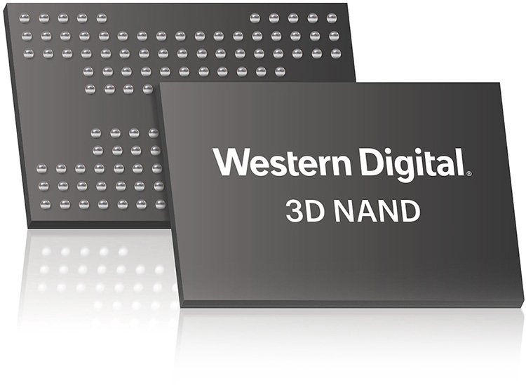 WD анонсировала архитектуру X4 3D NAND с 4 битами на ячейку флеш-памяти
