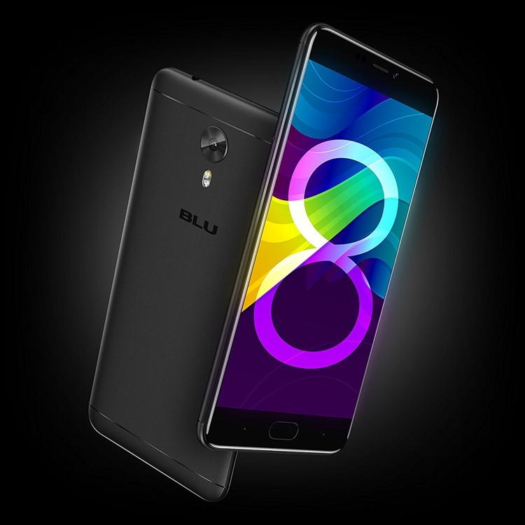 BLU Vivo 8: смартфон с экраном Full HD и процессором MediaTek Helio P10