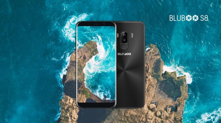 Bluboo S8 похож дизайном на флагманский Galaxy S8, но стоит дешевле