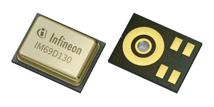 MEMS микрофон (Infineon Technologies AG)