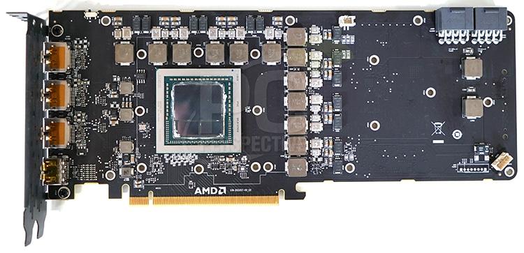 PCB профессионального ускорителя Radeon Vega Frontier Edition