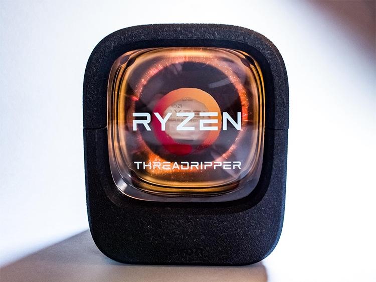 Коробочная поставка AMD Ryzen Threadripper