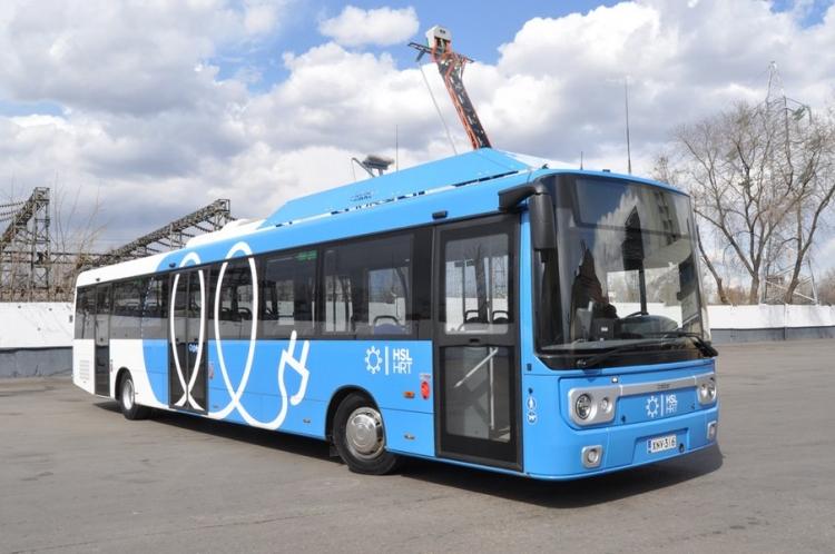 Финский электробус Linkker 12+
