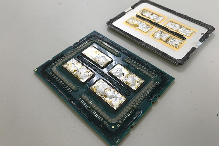 Скальпированный AMD Ryzen Threadripper