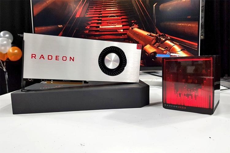 AMD Radeon RX Vega и Holocube