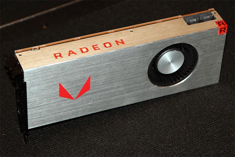 Radeon RX Vega с воздушным охлаждением