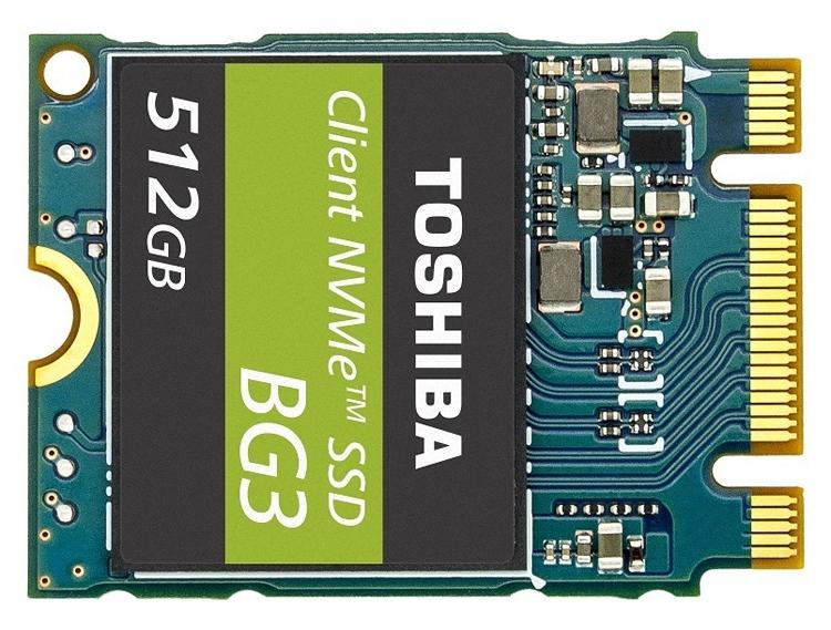 tosh2 - Toshiba BG3: потребительские SSD-накопители NVMe