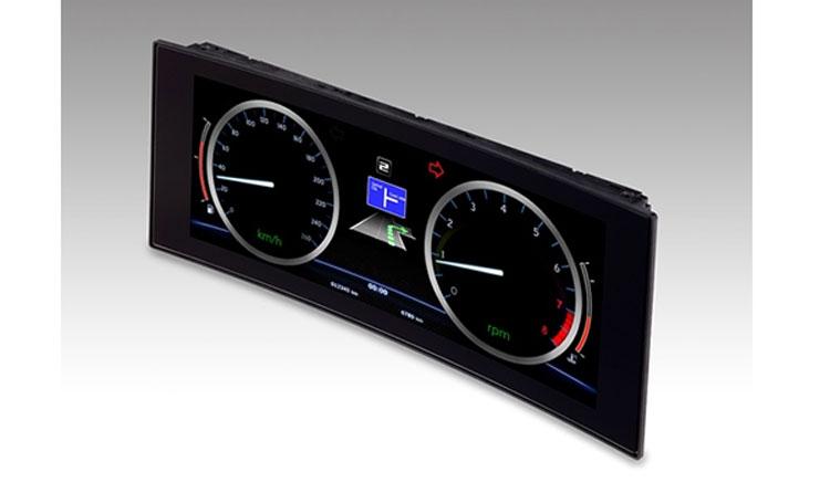 Автомобильный 12,3-дюймовый изогнутый дисплей DJI