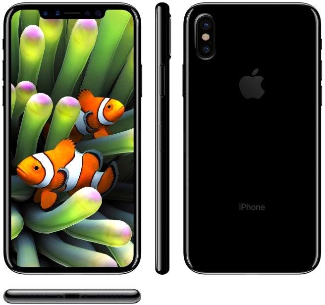 Ожидаемый дизайн iPhone 8